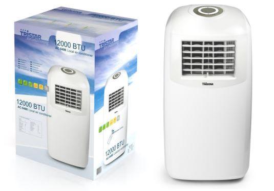 Tristar ac 5498 maniabilit et simplicit d 39 utilisation - Comment evacuer l air chaud d un climatiseur mobile ...