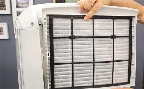 Filtre du climatiseur mobile